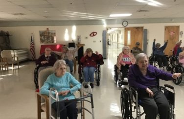 Exercise Group – The Macarena Wheelchair Dance